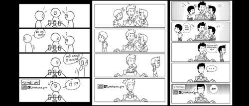 3 bước làm truyện tranh một trang